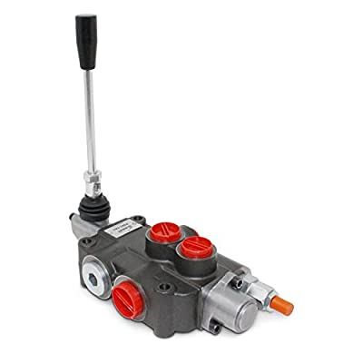 Monoblock Hydraulic Directional Control Valve, 1 Spool, 21 GPM, 3-Position Detent from Summit Hydraulics