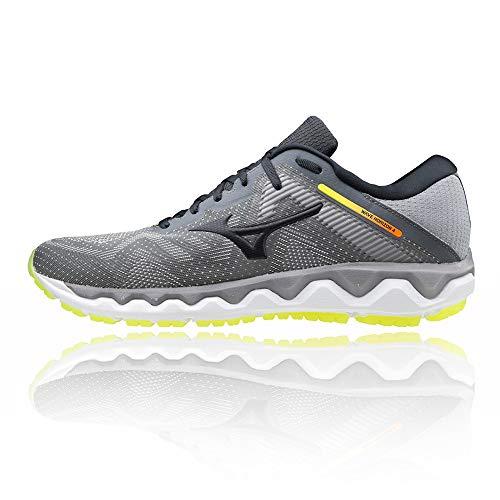Mizuno Wave Horizon 4, Zapatillas para Correr de Carretera Hombre, Fgray Phantom Sell, 40.5 EU
