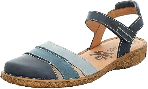 Josef Seibel Rosalie 44 Sandalen in Übergrößen Blau 79544 727 532 große Damenschuhe, Größe:45