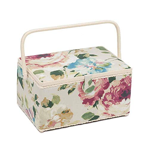 Great Features Of Hobby Gift Premium Extra Large Sewing Box Vintage Floral