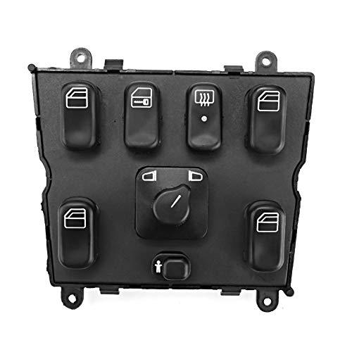 Haupt Fensterschalter, Fydun Fenster Schalter Power Window Master Switch Ersatz A1638206610 für W163 ML320