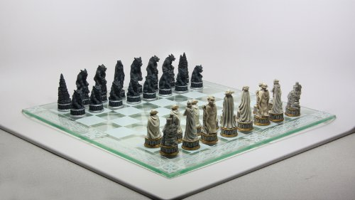 Vampires and Werewolves Chess Set