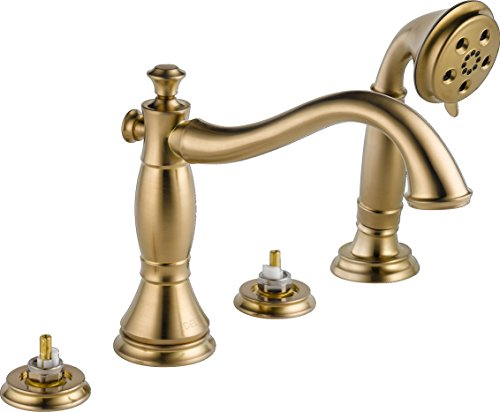 Delta Faucet T4797-CZLHP, Champagne Bronze,10.09x9.34x20.00
