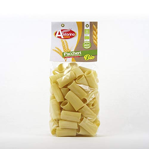 Bio-Nudeln Paccheri Pasta organic aus Hartweizen aus Kalabrien Astorino 6 Packungen Pasta 500g In Kalabrien mit italienischen Hartweizen hergestellt.