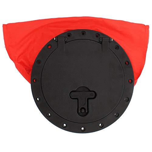 XZANTE Bolso de La Portilla Plato de Cubierta de Kayak, 8 Pulgadas - Bolsa de Almacenamiento Impermeable y Resistente Al Agua para Llaves, Gafas de Sol, Bocadillos
