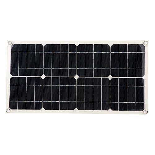 Vipxyc Cargador de batería para automóvil, Utiliza la energía del Sol, tecnología de Cortocircuito y sobretensión, fácil de Usar y Transportar