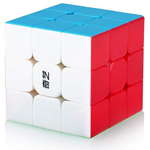 Speed Cube 3x3, Cubo Magico 3x3x3 Professionale, Puzzle Rompicapo per Adulti e Bambini(Stickerless)