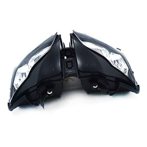 Rapide Pro pour moto Noir Phare Head Light Lampe frontale pour Honda Cbr1000rr CBR 1000RR 1000 RR 2012–2014