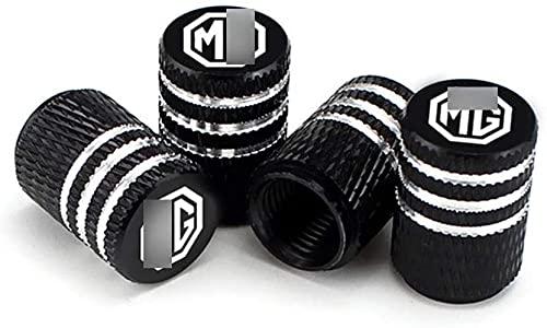 4 Piezas Coche Tapas para Válvulas, para M-G 3 5 6 7 ZS TF GS GT ZR HS Morris XXX Neumático Automóvil Tapones Válvula Tapones Neumatico