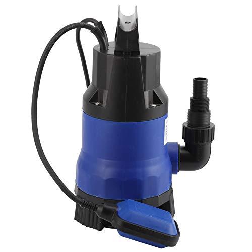 Bomba sumergible, anticorrosión Práctica bomba de agua sumergible, flujo más grande con interruptor de flotador(AC230V European plug)