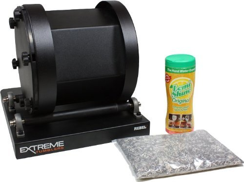 Stainless Steel Ammo Reloading Kit - Rebel 17 Tumbler - Stainless Steel Media - Detergent