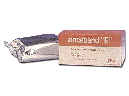 Benda all\'ossido di zinco, 10 cm x 10 m, benda fredda medicata