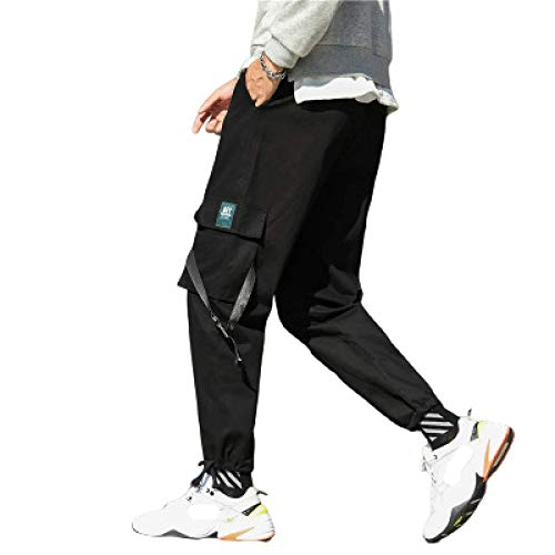 Katenyl Herren Nähen Kurzhose Mode Streetwear Multi-Pocket Komfortable Outdoor Walking Trend All-Match Cargohose XL