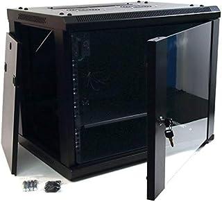 powergreen RAC-09660-HQ Armario Rack 9U 60X60 con Termostato 2 Ventiladores 1 Bandeja