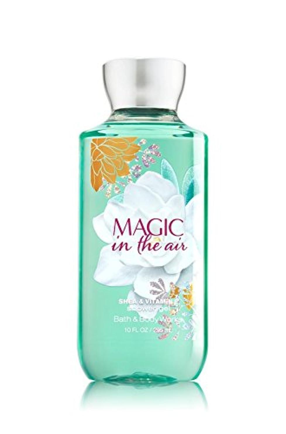 適度な英語の授業があります細部【Bath&Body Works/バス&ボディワークス】 シャワージェル マジックインザエアー Shower Gel Magic in the Air 10 fl oz / 295 mL [並行輸入品]