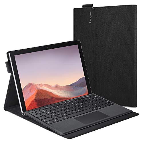 Spigen Stand Folio kompatibel mit Surface Pro 7 / Surface Pro 6 Hülle - Schwarz