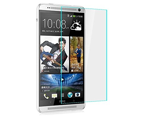 Heartly Imak 9H Hardness Anti Explosion 0.3mm Tempered Glass 2.5D Arc Edge Screen Guard Protector for HTC One Max T6 8088