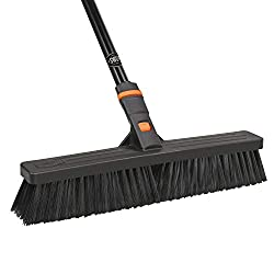 commercial push broom