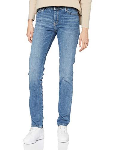 Cross Jeans Damen Anya P 489-165 Slim Jeans, Blau (Light Mid Blue 123), W31/L32