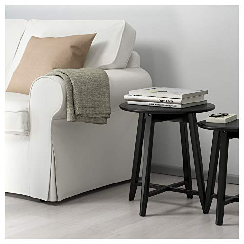 IKEA.. 002.998.25 Kragsta - Juego de 2 mesas Nido, Color Negro