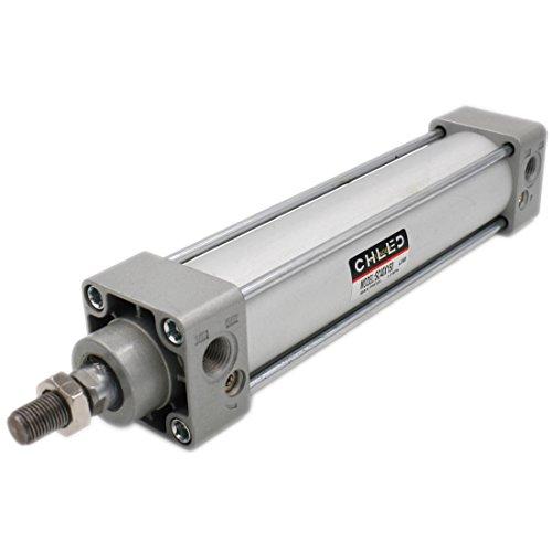 Heschen Cilindro estándar neumático SC 40-150 PT1/4 puerto 40 mm Diámetro 150 mm Carrera de doble efecto