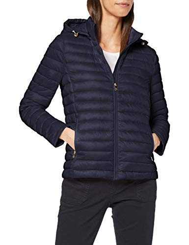 Tommy Hilfiger Damen WW0WW20801 Jacke, Blau (Peacoat 443), 42 (Herstellergröße: XL)