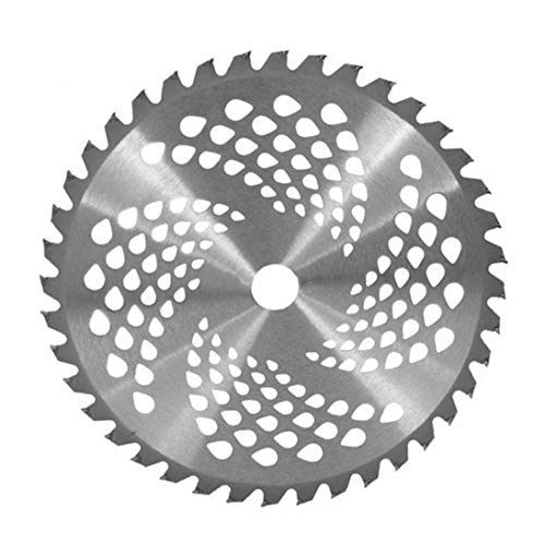 KHHGTYFYTFTY 40 Dientes Gradas lámina Cortacésped Brush Hoja de la Cuchilla de Repuesto Desbrozadora la lámina para la siega Máquina 1PC