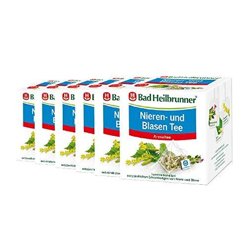 Bad Heilbrunner® Nieren- und Blasentee - Pyramidenbeutel - 6er Pack