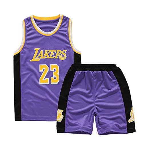Uniforme de Baloncesto para niños, Durant Curry Jordan Irving James Harden Thompson Camiseta de Baloncesto Estadounidense Miami New York Chicago,ibra de poliester-23-XL