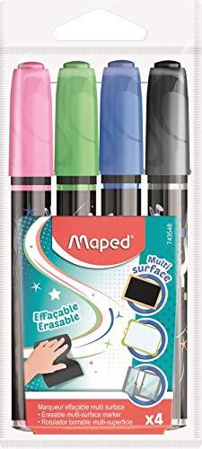 Pack 6 tizas de colores Maped 936010 para suelo 13x10cm (Juguete)