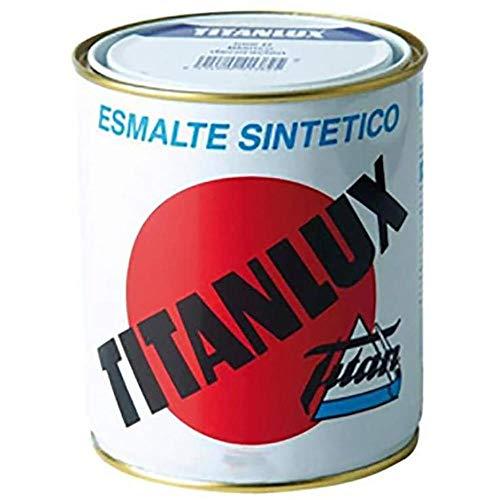 Titanlux - Esmalte sintético, Blanco mate, 375 ML (ref. 001057738)