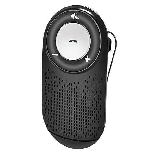 NETVIP Auto Kfz Freisprecheinrichtung Automatischem Anschluss Bluetooth Visier Car Kit für Sonnenblende, Lauter Lautsprecher, Siri Google Assistant Unterstützung, Lautstärkeregler, Sprachbefehl