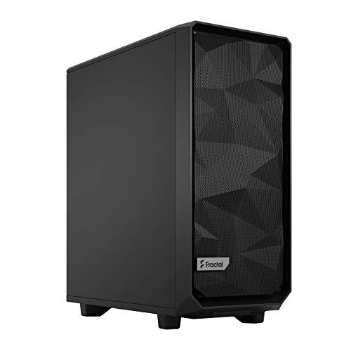 FRACTAL Meshify 2 Compact Black Solid - Cajas de Almacenamiento