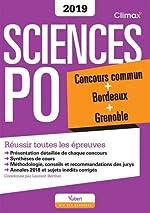 Climax Concours Sciences Po - Concours commun + Bordeaux + Grenoble de Laurent Berthet