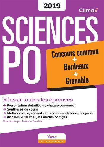 Climax Concours Sciences Po