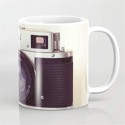 Zorki - Taza de café con cámara, diseño de fotógrafo, regalo de cumpleaños para fotógrafo, regalo de cumpleaños