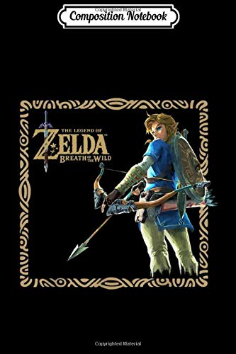 Composition Notebook: Zelda Breath Of The Wild Link Stance Framed Graphic Journal/Notebook Blank Lined Ruled 6x9 100 Pages
