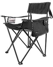 Norrfika 17 546 Katlanır Pratik Kamp Sandalyesi Çok Amaçlı Cepli ve Bardak Bölmeli Kamp Piknik Bahçe Sandalyesi