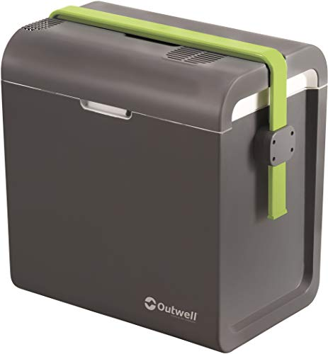 Outwell ECOcool 24L 12V/230V Electric Cooler Box Slate Grey