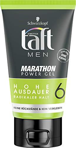 Schwarzkopf 3 Wetter taft Gel Power Marathon radikal starker Halt 6, 6er Pack (6 x 150 ml)