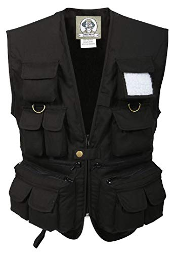 Rothco Kids Uncle Milty Vest, Black, Large