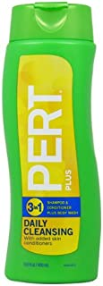 3 In 1 Shampoo and Conditioner Plus Moisturizing Body Wash by Pert Plus 13.5 oz Conditioner
