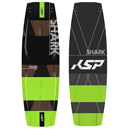 Tabla KSP Shark Green 2020 Freestyle Completa de Kitesurf 135/137/139/141 Kite Board