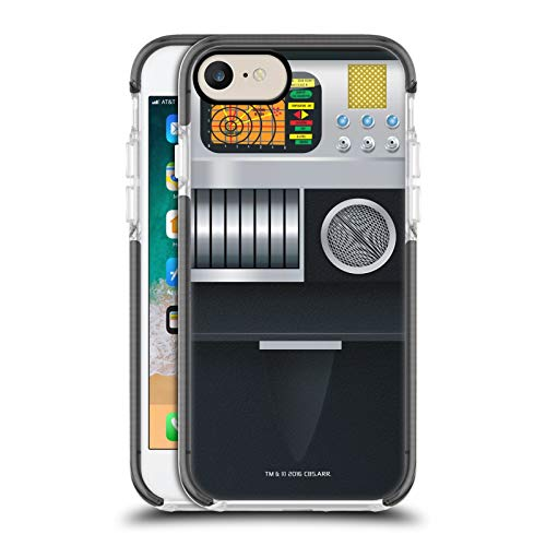 Head Case Designs Officially Licensed Star Trek Tricorder Gadgets Black Shockproof Gel Bumper Case Compatible With Apple iPhone 7 / iPhone 8 / iPhone SE 2020