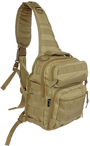 Mil-Tec One Strap Small Assault Pack Coyote by