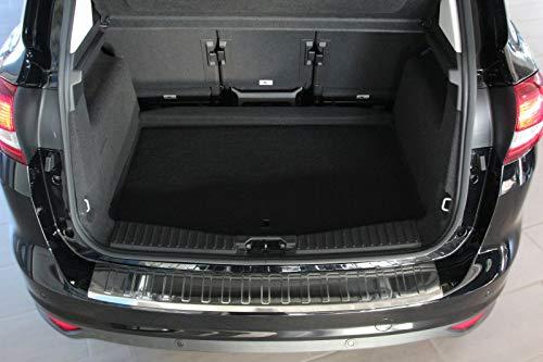 Recambo CT-LKS-1180 LADEKANTENSCHUTZ Edelstahl Chrom für Ford C MAX II | BJ ab 2010-mit ABKANTUNG, Large