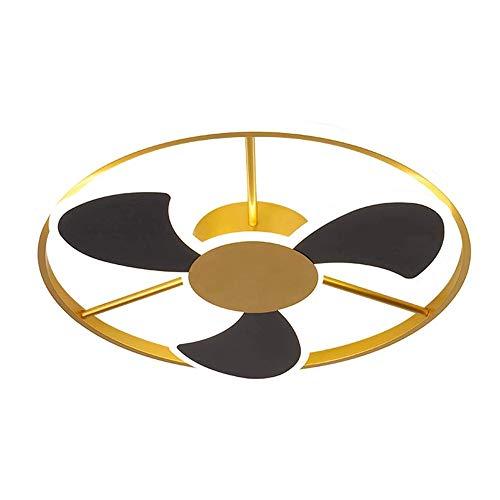 TGRBOP Diseño Creativo Lámpara De Techo LED Estilo Nórdico Montaje En Superficie Luz De Techo Ventiladores Con Estilo Muebles De Forma Iluminación Personalidad Lámpara De Muebles Para Comedor Restaura