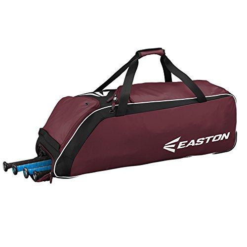 EASTON E510W Bat & Equipment Wheeled Bag, Maroon