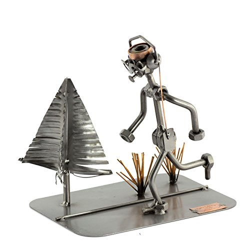 Steelman24 I Corredor I Made in Germany I Idea para Regalo I Figura de metalo