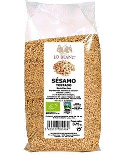 SEMILLAS DE SÉSAMO TOSTADO BIO LO BLANC - Bolsa 375 g